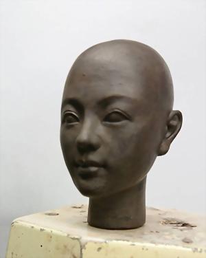Q版公仔-頭像雕塑 2