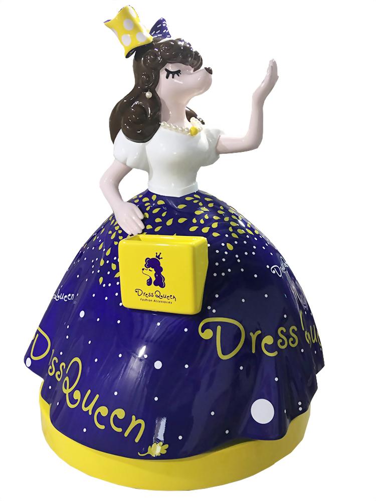 FRP大型公仔-Dress Queen 1