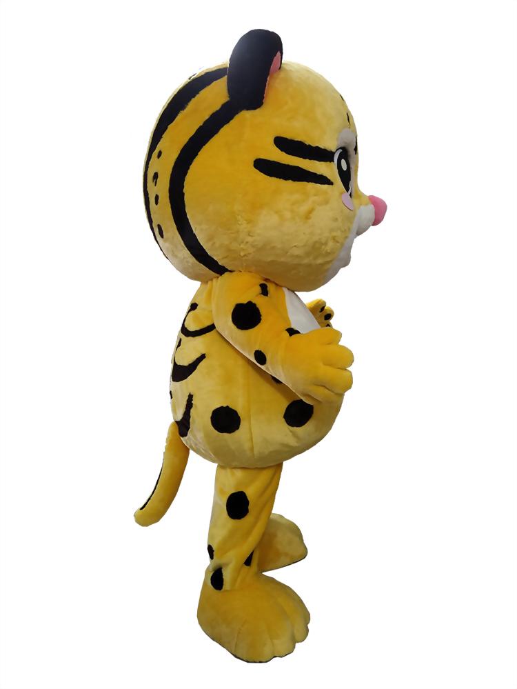 布偶裝(人偶裝)-台北市雙層巴士 抱豹 3