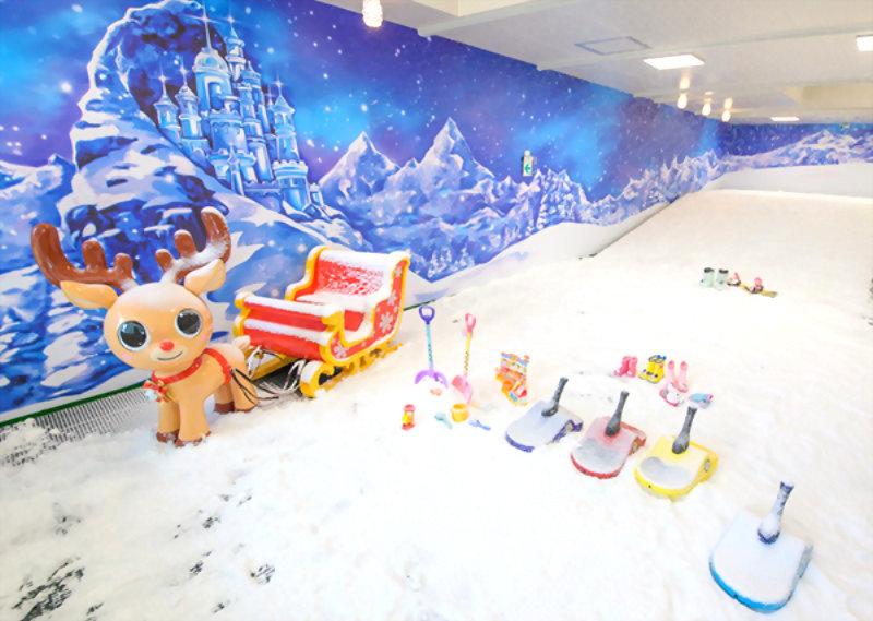 大型公仔-台灣滑雪學苑 雪橇與Q版麋鹿 4