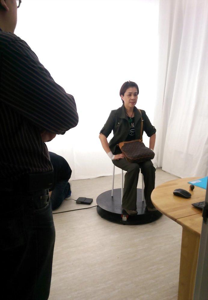 3D掃瞄列印-明華園 3