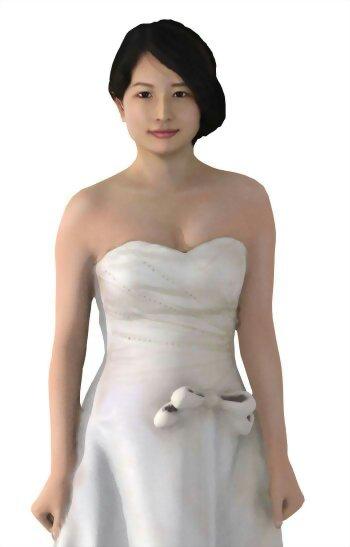 6分之1婚紗人偶 13