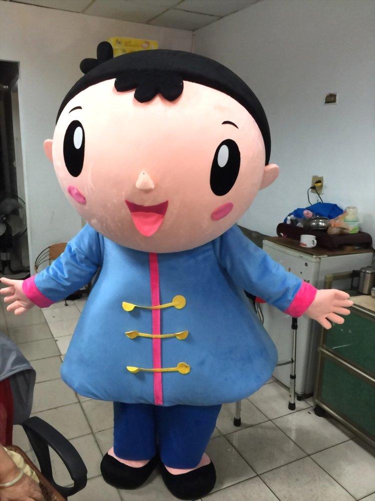 人偶裝製作-阿弟阿妹 2