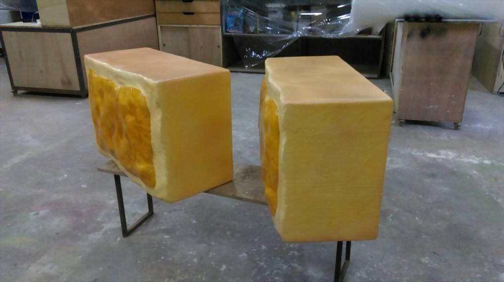 裝置藝術 | 巧匠工藝FRP鳯梨酥模型 1