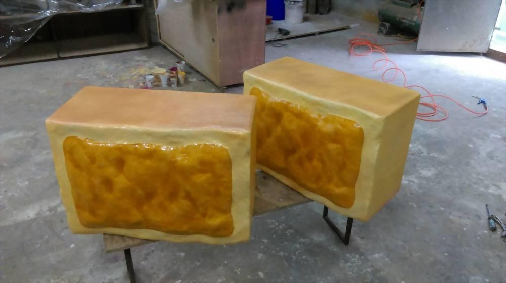 FRP Ananas Shortcake Modell 3
