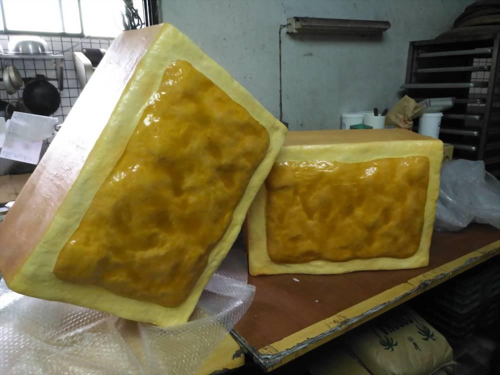 裝置藝術 | 巧匠工藝FRP鳯梨酥模型 6