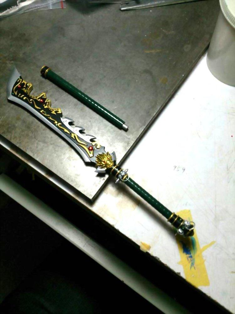 霹靂布袋戲-計都刀23CM 3