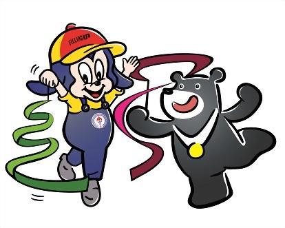 中油寶寶與台北世大運熊讚 8