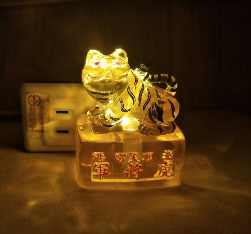 虎將軍造型LED夜燈 1