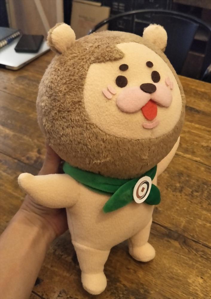 絨毛娃娃 | 巧匠工藝-小粉獅 5