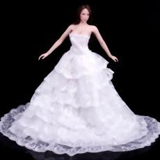 6分之1婚紗人偶
