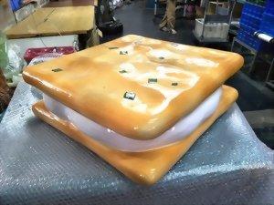 FRP牛軋餅模型