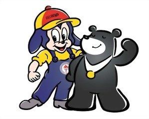 中油寶寶與台北世大運熊讚