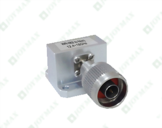 12.4~18.0GHz Waveguide to N(m) Coaxial Adapter, General Square Cover type