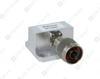 8.2~12.4GHz Waveguide to N(m) Coaxial Adapter, General Square Cover type