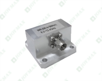 8.2~12.4GHz Waveguide to SMA(m) Coaxial Adapter, General Square Cover type