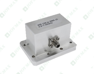 4.9~7.05GHz Waveguide to SMA(f) Coaxial Adapter, General CMR type