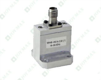 18~26.5GHz Waveguide to 2.92mm(f) Coaxial Adapter, End Launch, Square Cover type