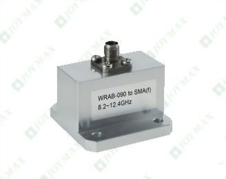 8.2~12.4GHz Waveguide to 2.92mm(f) Coaxial Adapter, End Launch, Square Cover type