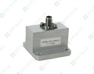 7~11GHz Waveguide to 2.92mm(f) Coaxial Adapter, End Launch, Square Cover type