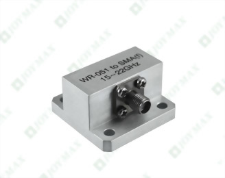 15~22GHz Waveguide to SMA(f) Coaxial Adapter, General Square Cover type