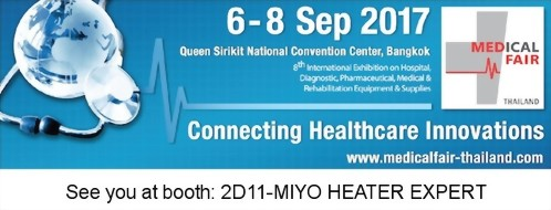 We will exhibit in Medical Fair Thailand 2017