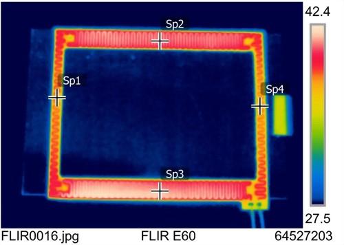 New Heater analysis technology involved- Infra camera by FLIR