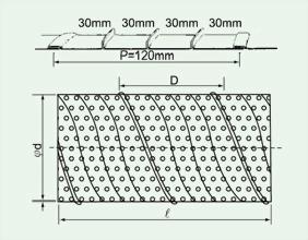 PSD沖孔型螺旋風管 2