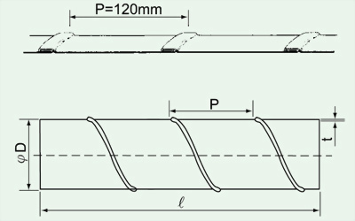 SD標準型螺旋風管 2