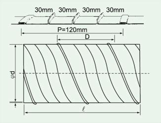 SSD加強型螺旋風管 2
