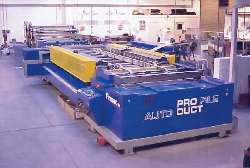 全自動化機械風管成型機 1