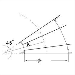 45°彎頭(3 GORE) 3