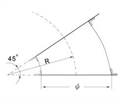 45°模型彎頭 3