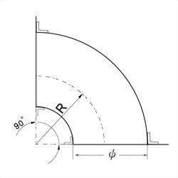 90°模型彎頭 3