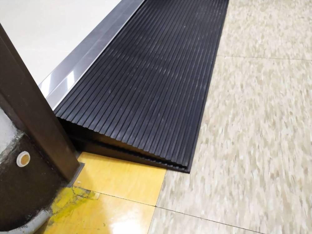 橡膠斜坡板