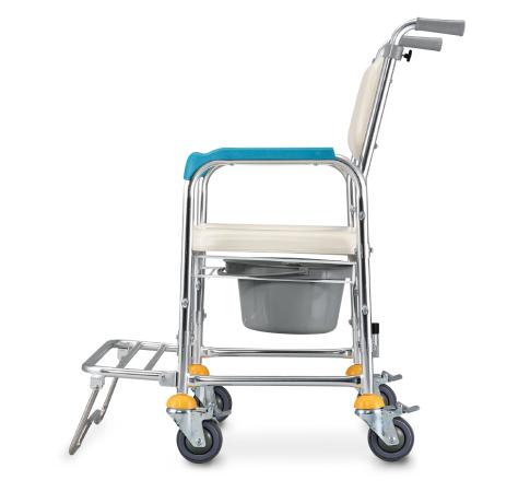 洗澡便器椅 鋁合金U型軟墊