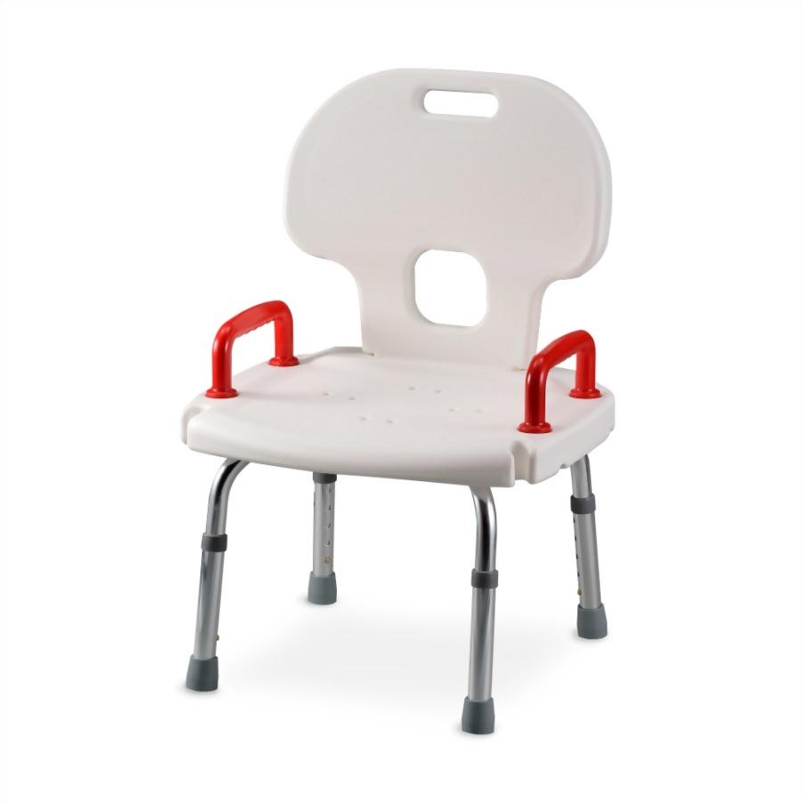 洗澡椅 靠背雙扶手式