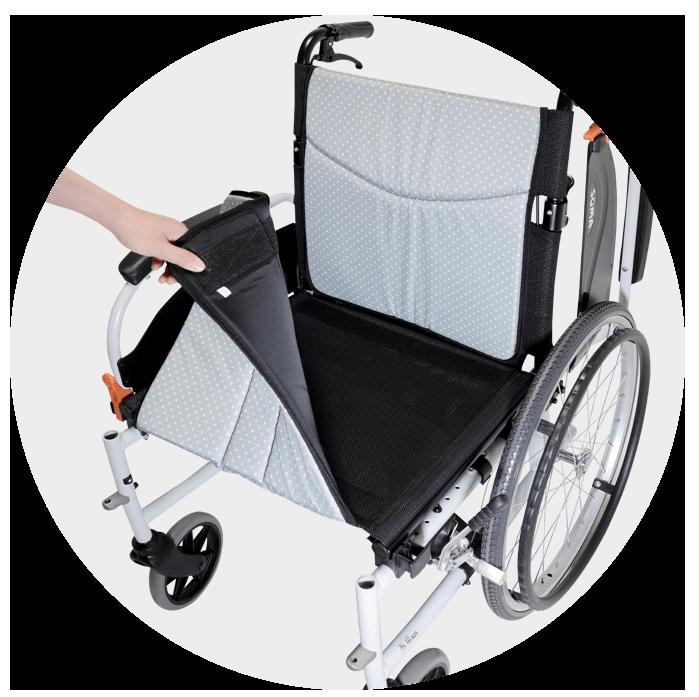 移位型輪椅 鋁合金基本款