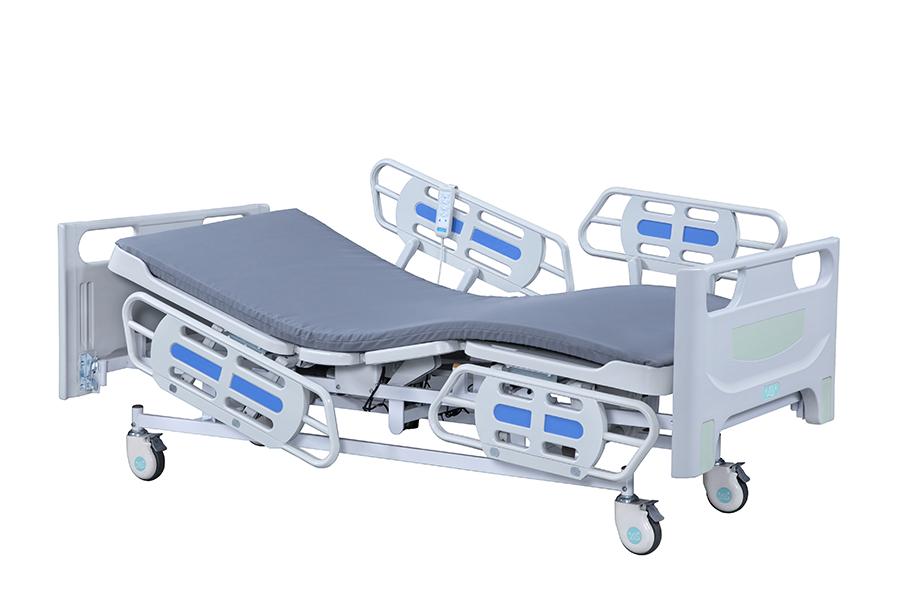 三馬達電動床(四片護欄 養護型)