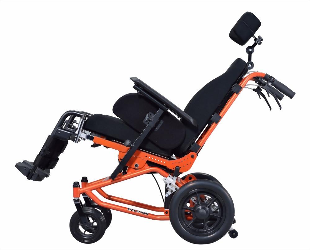 空中傾倒+仰躺型輪椅
