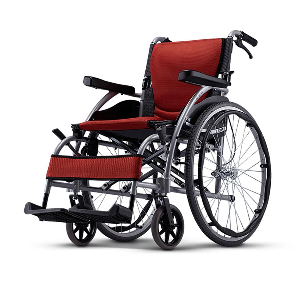 一般輪椅 鋁合金座墊曲線型
