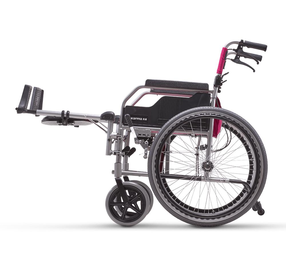 骨科輪椅 鋁合金升撥腳型