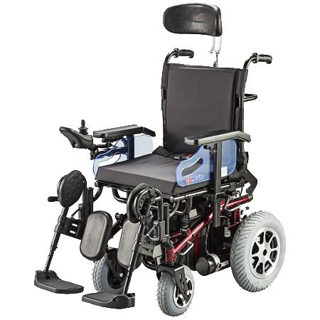 電動輪椅 擺位坐椅型