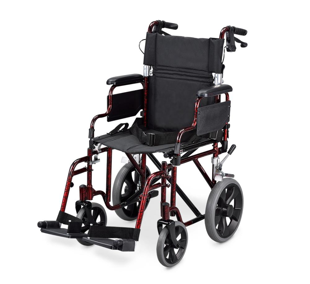 移位型輪椅 鋁合金小輪款