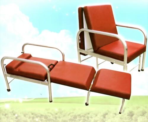 不鏽鋼坐臥兩用陪伴椅