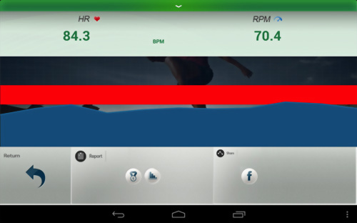 運動器材操控儀表板與多媒體互動