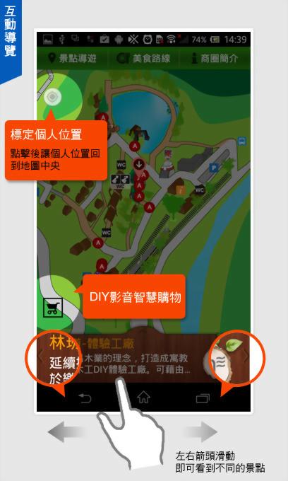 林班道園區互動導覽