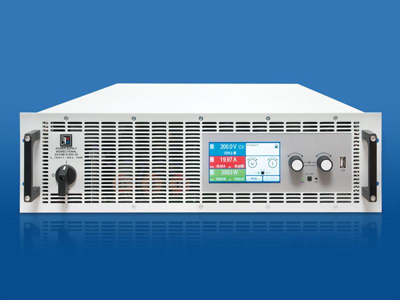 EA-PSB 9000 3U 5kW - 15kW 雙向直流電源供應器