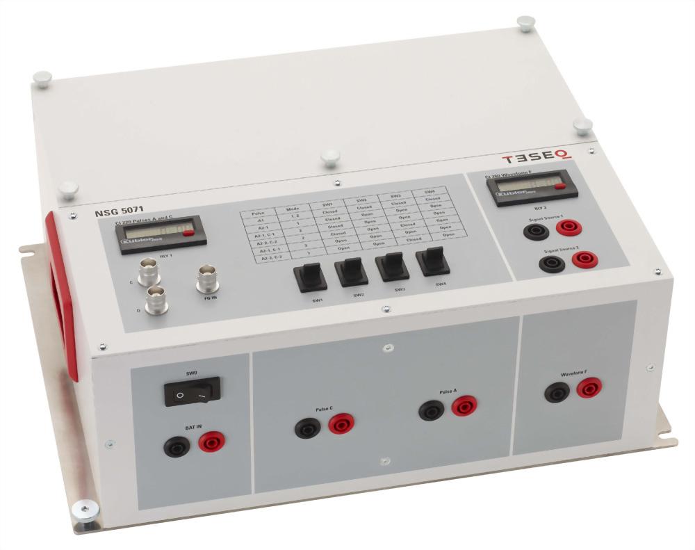 TESEQ NSG 5071 電感性切換暫態測試電路