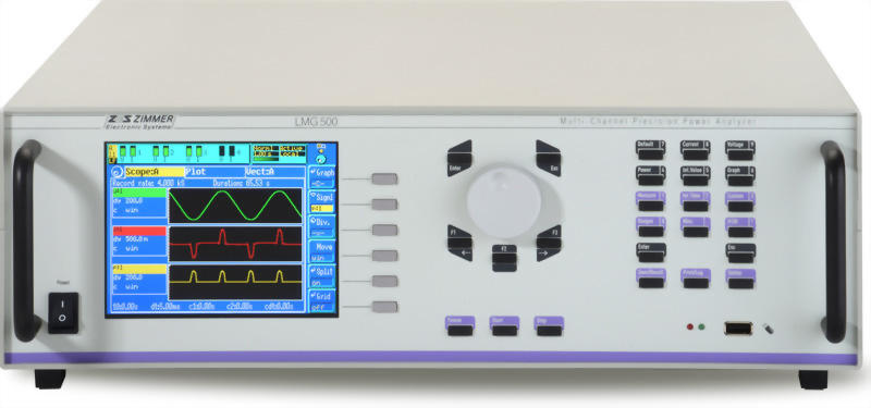 ZES ZIMMER LMG500 1 to 8 Channel Power Analyzer